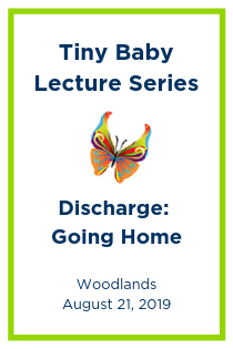 Tiny Baby Lecture Series: Going Home: Discharge Screening - Vaccines Banner