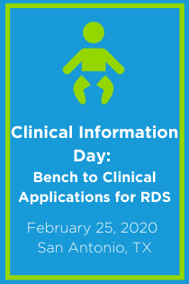 Clinical Information Day: Bench to Clinical Applications for RDS Banner