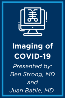 Imaging of COVID-19 Banner