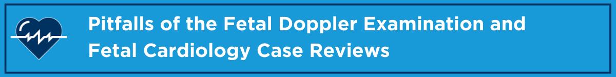Pitfalls of the Fetal Doppler Examination and Fetal Cardiology Case Reviews Banner