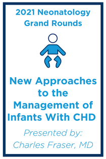 New Approaches to the Management of Infants with Congenital Heart Disease Banner