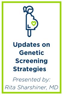 Updates on Genetic Screening Strategies Banner