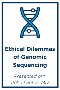 Ethical Dilemmas of Genomic Sequencing Banner