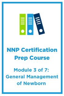 NNP Module 3: General Management of Newborn Banner