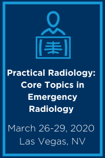 Practical Radiology 2020 – Core Topics in Emergency Radiology Banner