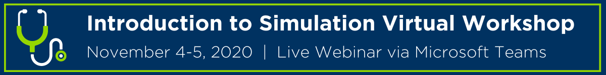 Introduction to Simulation Virtual Workshop Banner
