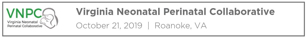Virginia Neonatal Perinatal Collaborative Annual Summit Banner